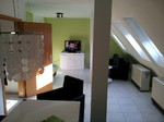Schlafzimmer Zweierbett, Landhausstil, Urlaubswohnung Stuttgart
